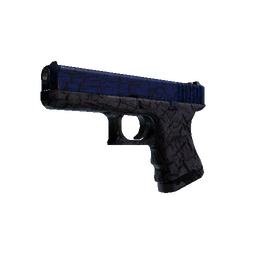 StatTrak™ Glock-18 | Blue Fissure (Field-Tested)