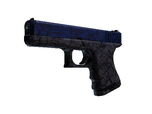 Glock-18 | Blue Fissure Field-Tested