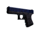 Glock-18 | Blue Fissure (Well-Worn)