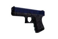 Glock-18 | Blue Fissure (Field-Tested)