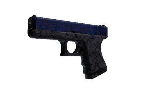 Buy Glock-18 | Blue Fissure (Well-Worn)