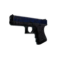 Glock-18 | Blue Fissure <br>(Battle-Scarred)