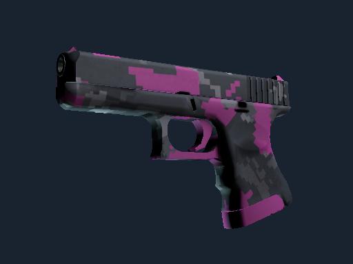 Glock-18 | Pink DDPAT (Battle-Scarred)