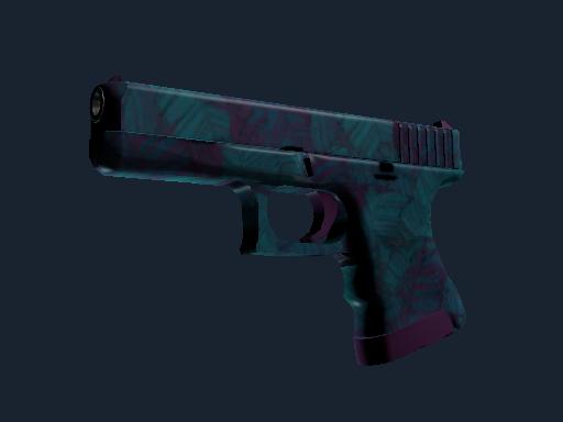 Glock-18   Synth Leaf (Battle-Scarred)
