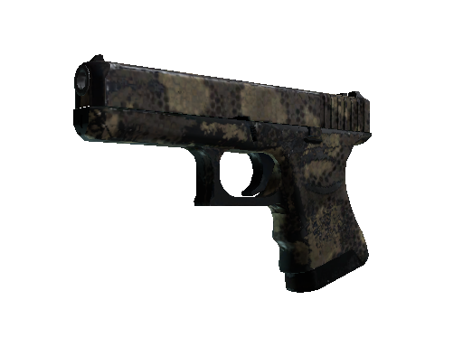 Glock-18 | Death Rattle Battle-Scarred