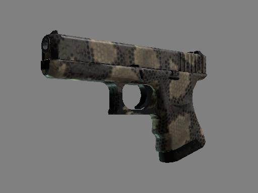 Скин Glock-18 | Гремучая смерть (После полевых испытаний)