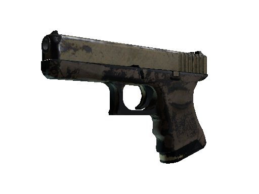 Glock-18 | Sand Dune Battle-Scarred