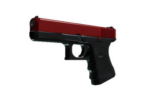 Glock 18 Candy Apple Minimal Wear