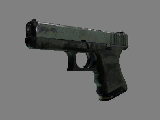 Скин Glock-18   Грунтовая вода (Закалённое в боях)