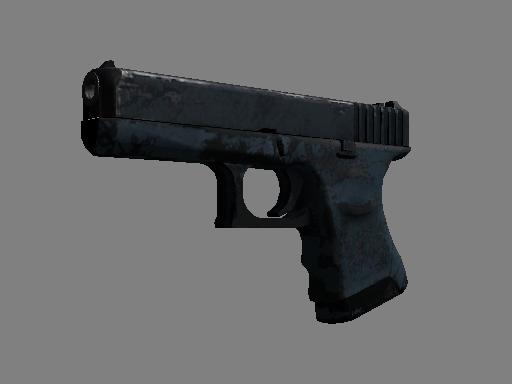 Скин Сувенирный Glock-18   Ночь (Закаленное в боях)