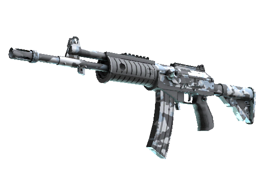Galil AR | Winter Forest (Battle-Scarred)