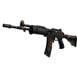 Galil AR | Orange DDPAT (Well-Worn)