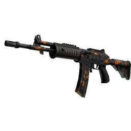 StatTrak™ Galil AR | Orange DDPAT (Minimal Wear)
