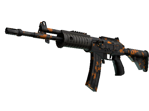 StatTrak™ Galil AR | Orange DDPAT (Battle-Scarred)