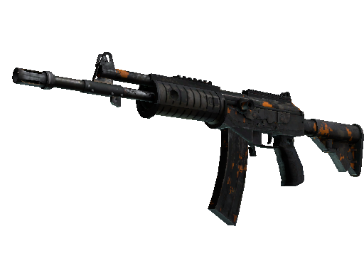 Galil AR | Orange DDPAT Battle-Scarred