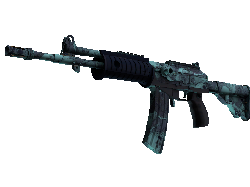Souvenir Galil AR | Cold Fusion (Battle-Scarred)