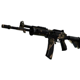 StatTrak™ Galil AR | Black Sand (Well-Worn)