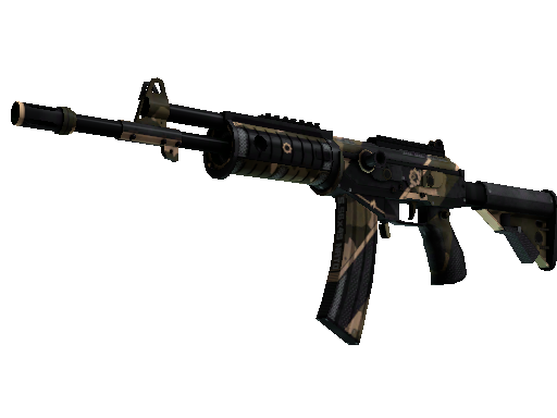 StatTrak™ Galil AR | Black Sand (Battle-Scarred)