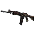 Galil AR | Crimson Tsunami <br>(Battle-Scarred)