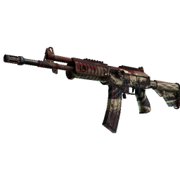 StatTrak™ Galil AR | Crimson Tsunami (Well-Worn)