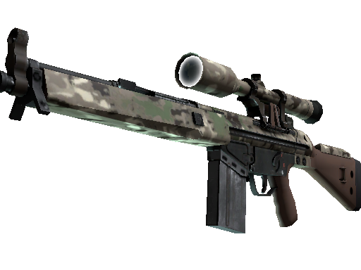 Souvenir G3SG1 | VariCamo (Battle-Scarred)