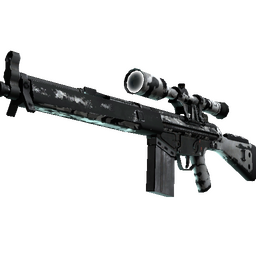 Souvenir G3SG1 | Polar Camo (Battle-Scarred)