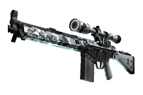 Buy G3SG1 | Polar Camo (Well-Worn)