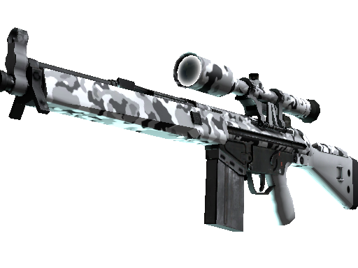 Souvenir G3SG1 | Polar Camo (Factory New)