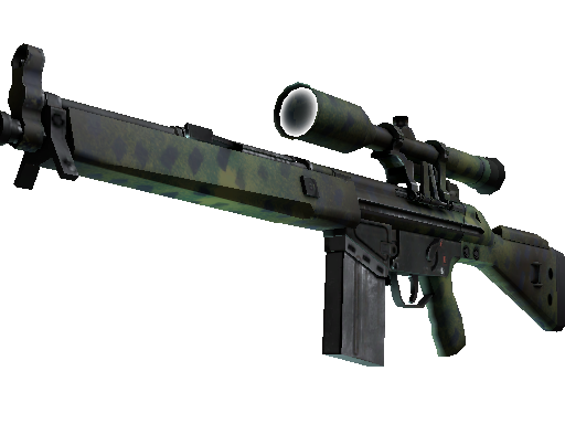 G3SG1 | Jungle Dashed (Minimal Wear)