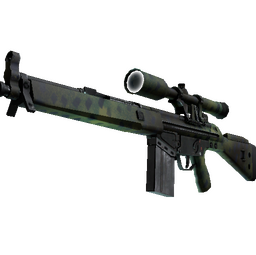 Souvenir G3SG1 | Jungle Dashed (Minimal Wear)