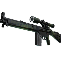 Souvenir G3SG1 | Jungle Dashed (Well-Worn)