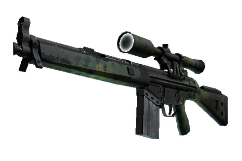 Buy G3SG1 | Jungle Dashed (Well-Worn)