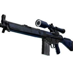 StatTrak™ G3SG1 | Azure Zebra (Field-Tested)