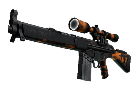 Buy G3SG1 | Orange Crash (Battle-Scarred)