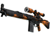 StatTrak™ G3SG1 | Orange Crash (Well-Worn)