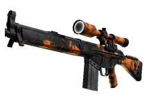 StatTrak™ G3SG1 | Orange Crash
