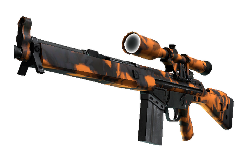 Buy StatTrak™ G3SG1 | Orange Crash (Minimal Wear)