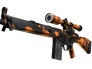 Skin G3SG1 | Orange Crash