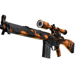 StatTrak™ G3SG1 | Orange Crash (Minimal Wear)
