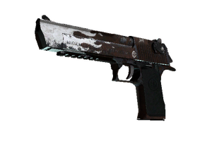 Desert Eagle Oxide Blaze Well Worn