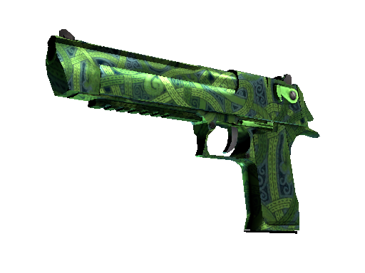 Desert Eagle | Emerald Jörmungandr (Battle-Scarred)