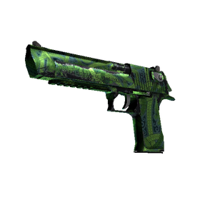 Desert Eagle | Emerald Jörmungandr (Well-Worn)