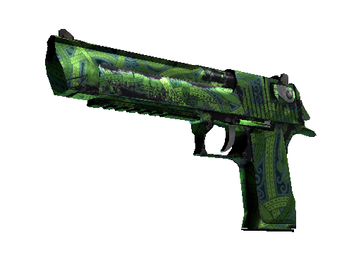 Desert Eagle | Emerald Jörmungandr Field-Tested
