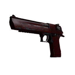 StatTrak™ Desert Eagle | Crimson Web (Well-Worn)