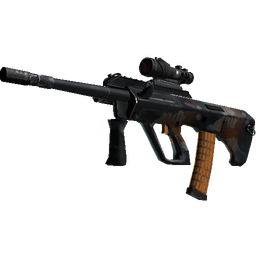StatTrak™ AUG | Amber Slipstream (Well-Worn)