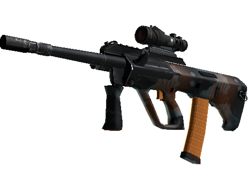 StatTrak™ AUG | Amber Slipstream (Battle-Scarred)