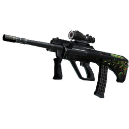 StatTrak™ AUG | Chameleon (Battle-Scarred)