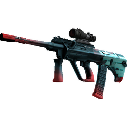 StatTrak™ AUG | Momentum (Well-Worn)