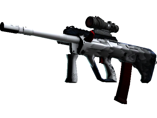 StatTrak™ AUG | Arctic Wolf (Battle-Scarred)