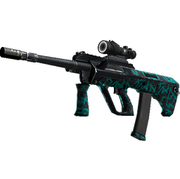 StatTrak™ AUG | Ricochet (Well-Worn)